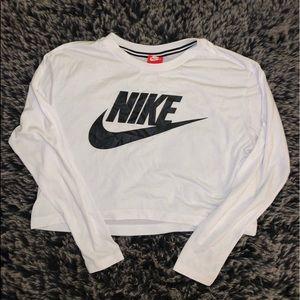 Nike cropped long sleeve